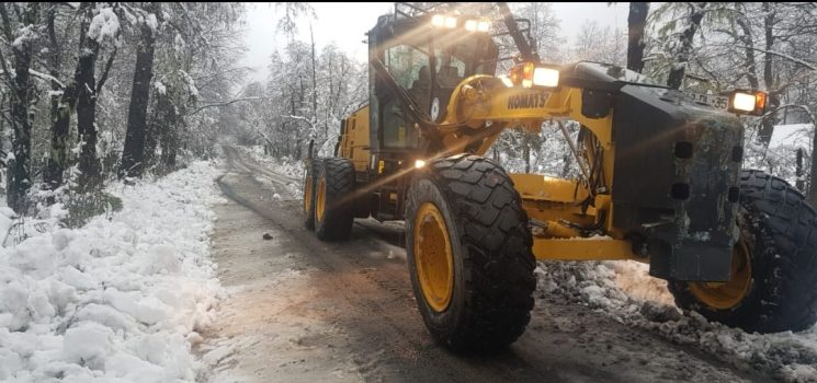 Municipalidad de Pucón informa sobre reparación de caminos