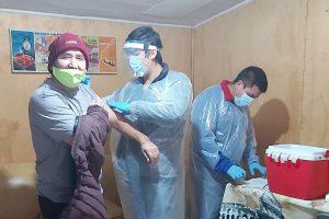 Municipio de Pucón inicia vacunación antinfluenza para conductores del trasporte público