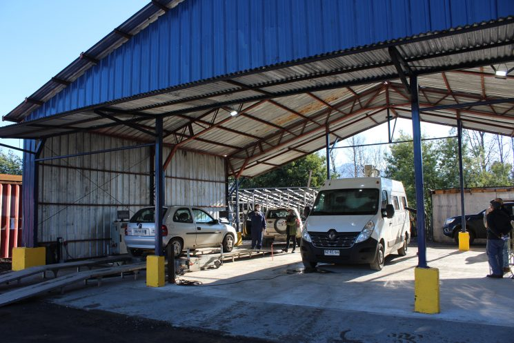 Planta de Revisión Técnica Móvil ya está en Pucón