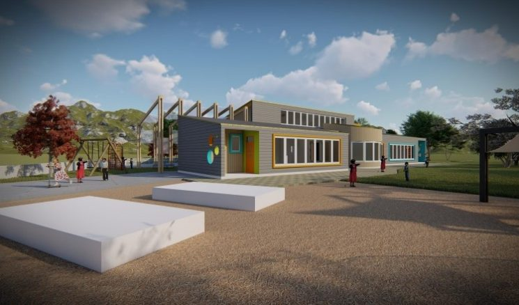 Proyecto de nuevo Jardín Infantil de Quetroleufu
