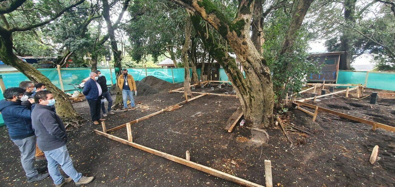 Comenzaron las obras de construcción del nuevo museo de la pesca en Pucón.