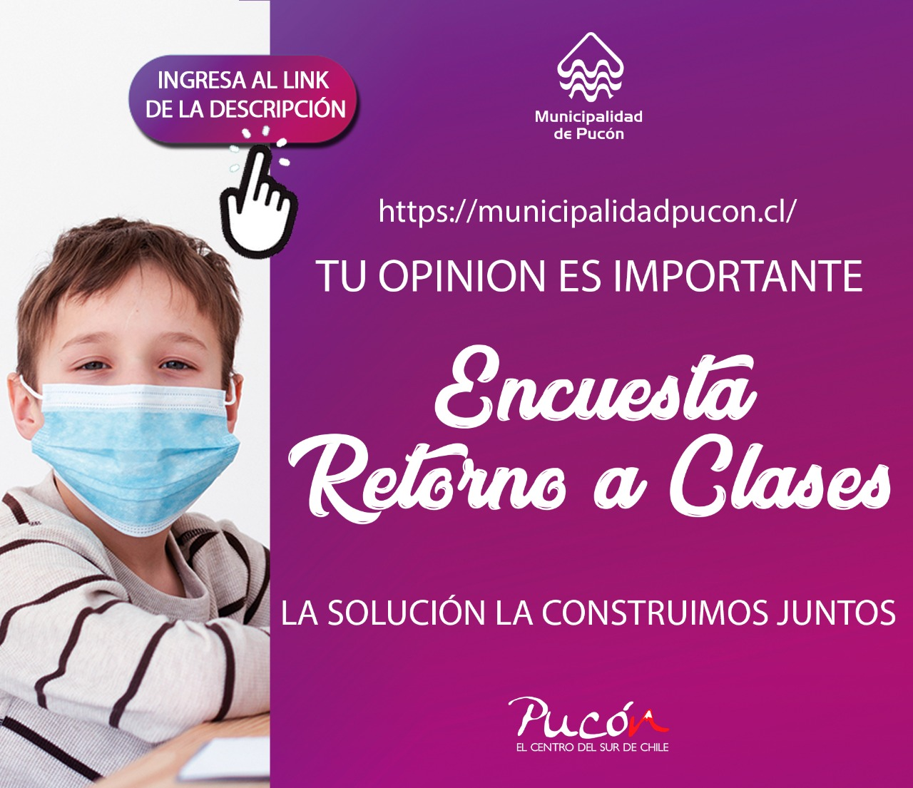 Primera encuesta municipal online: ¿Estás a favor del retorno a clases presencial?