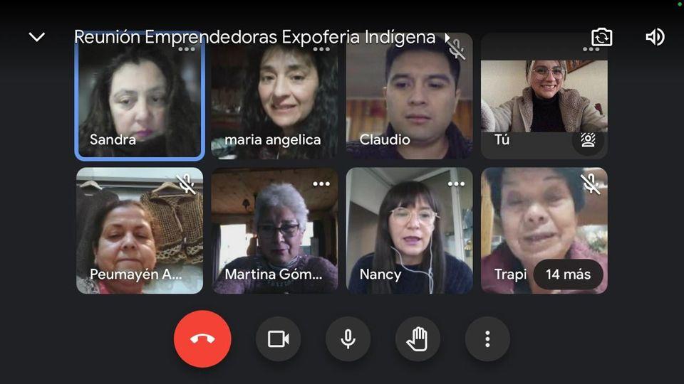 Comenzaron los preparativos para la Expo Feria Virtual Mujer Indígena