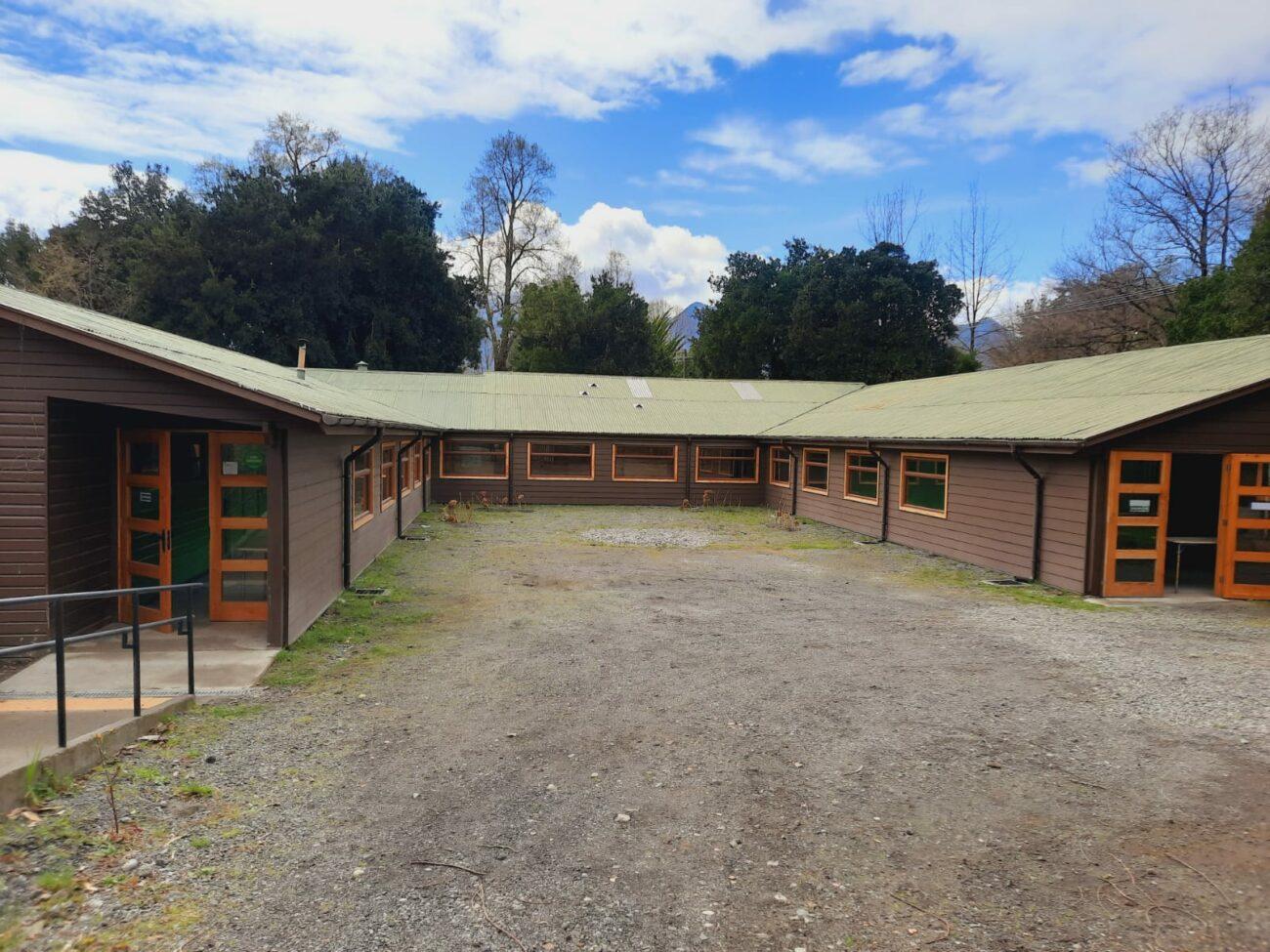 Remodelan escuela para niños en situación de discapacidad en Pucón
